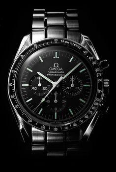 Omega Speedmaster Professional Moonwatch .  Dette er den vakreste klokken som noen gang har blitt laget.