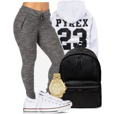 A fashion look from February 2015 featuring hooded sweatshirt, converse shoes and Yves Saint Laurent. Browse and shop related looks.