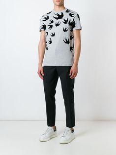 #mcq #men #new #swallow #print #tshirt #sporty #fashion #style www.jofre.eu