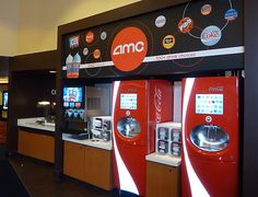 Self serve beverage bar complete with touch screen soda fountains that offer over 100 soda options and three flavors of Icee. Montebello Mom: AMC Montebello: NEW & IMPROVED: TICKET GIVEAWAY