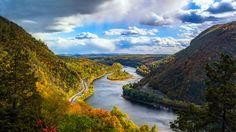 Delaware river in New Jersey