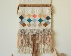 Made to order Handwoven Wall Hanging, Woven Tapestry, Weaving wall hanging
