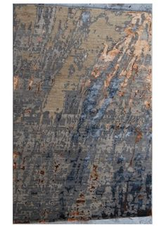 Handmade, wool and bamboo silk, Tibetan weave Rug Love Of The Day  pick! The reason this special rug was chosen today is because of its blue, grey and off-white holiday festive colors! Thanksgiving is only a few weeks away!  www.UtahRugs.com