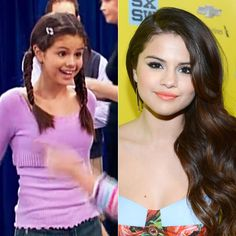Famous Actress,Fashion-Designer For Her Dream Out Loud Designer Clothes For Kmart,Dancer,Singer Selena Gomez From The Suite Life Of Zack And Wizards Of Waverly Place Tv Shows Protection Program,Monte Carlos,Romona And Spring Breakers Movies When She Was A Cute Little Girl And Right Now.