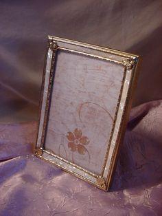 Vintage Regency Photo Frame 4 by 6 inch Desk or Prop style Ornate Detail Seller florasgarden on ebay