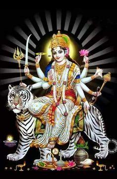 Photo Maa Durga Image, Durga Maa, Shiva Shakti, Indian Goddess, Goddess Lakshmi, Shani Dev, Durga Painting, Lord Murugan Wallpapers, Kali Ma