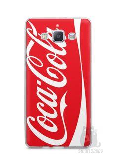 Capa Capinha Samsung A7 2015 Coca-Cola - SmartCases - Acessórios para celulares e tablets :)