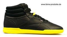 Reebok F/S HI Ultralite Intl V50341  schwarz gelb  www.sportmarkenschuhe.de