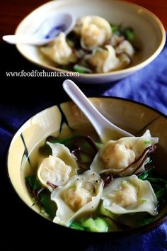 FoodForHunters.com : Wild Turkey Wonton Soup #ChineseFood #hunting