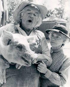 Grandpa & Grandma Walton