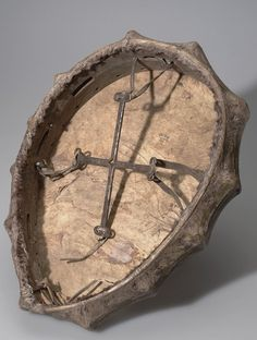 Back of a Sakha shaman's drum (The Sakah are the people formerly known as the Yakut)  American Museum of Natural History