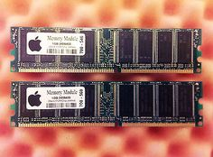 Genuine #apple  m9655g/a 2gb #(2x1gb) ddr #400mhz memory set for mac g5, imac g4,  View more on the LINK: http://www.zeppy.io/product/gb/2/122019432694/