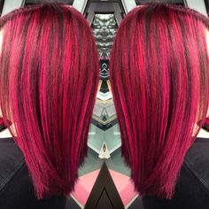 Lanza Vibes. hair and makeup by marisa. #pinkhair
