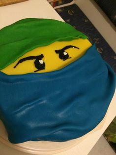 Lego Ninjago Cake :) Lego Ninjago Cake, How To Make, Homemade