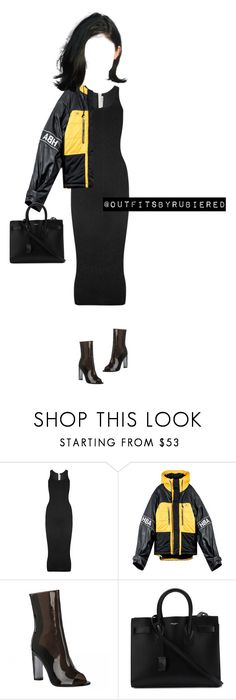 """""""Kylie."""" by outfitsbyrubiered ❤ liked on Polyvore featuring T By Alexander Wang and Yves Saint Laurent"""