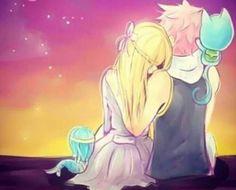 Natsu & Lucy #NaLu , Fairy Tail                                                                                                                                                                                 More