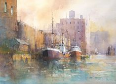 Ian Ramsay Watercolors: Here is a summer update of some of my recent paintings... contact: imramsay@comcast.net