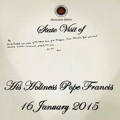 ... Pope Francis