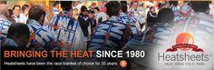All Weather resistant Race blankets, Sheets - Heatsheets®