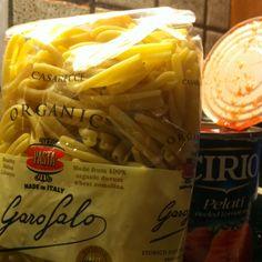 Tonight pasta Garofalo!