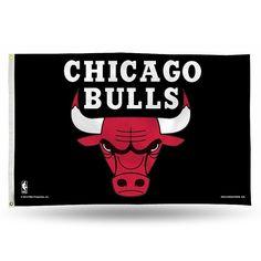 Chicago Bulls Banner Flag, Multicolor