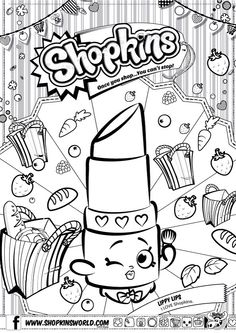 52 Best Shopkins Colouring Pages Images Coloring Pages Shopkin