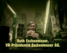 "Read more: https://www.luerzersarchive.com/en/magazine/commercial-detail/26274.html Eschenmoser TV & HiFi ""Ruth"" [00:45] An older woman ventures out into the rain, onto the bus, and then to work, where she labels boxes of electronics. She eats a bagged lunch, and the caption identifies her as the company president. She has had a sucessful business for 46 years, and still she has to work every day. No wonder at those prices. Tags: Wirz / BBDO, Zurich,Andre Benker,Barbara Strahm,Condor…"