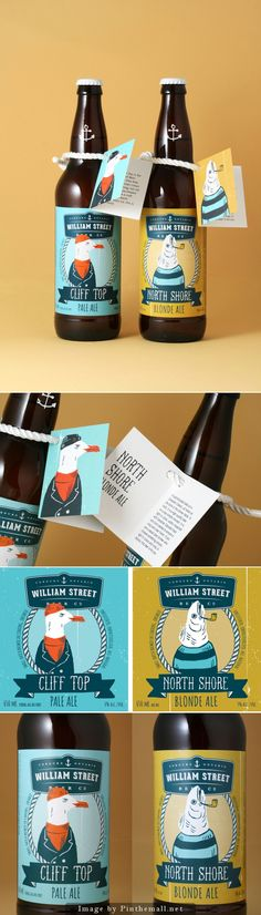 William Street Beer Co. #label #design | by Luke Despatie  The Design Firm