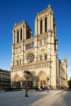 Notre Dame de Paris - I was in utter awe when I first saw this amazing church; I believe it was finished in 1066 & I, as a young American, was silent thinking about the majesty & history of this building.
