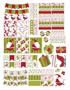 Free Christmas Planner Sticker Printable