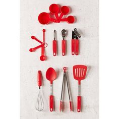 15-Piece Kitchen Cookware Set ($34) ❤ liked on Polyvore featuring home, kitchen & dining and urban outfitters