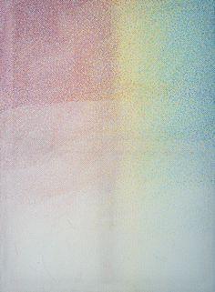Henrik Kröner, Impulse I, 2015, 190 x 140cm kleurpotlood op ruitjesdoek