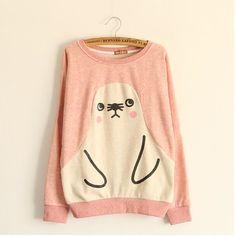 Cute penguin sweater