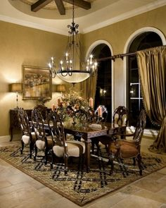 Top 40+ Mediterranean Dining Room Design Ideas For Amazing Home http://decorathing.com/kitchen-ideas/40-mediterranean-dining-room-design-ideas-for-amazing-home/