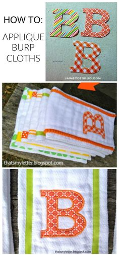 Sewing Letters, Fabric Letters, Monogram Letters, Wood Letters, Monogram Fonts, Free Monogram, Baby Sewing Projects, Sewing Hacks, Sewing Crafts