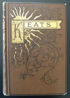Poetical Works of John Keats Pub by Crowell & Co Illustrated Gold Gilt Trim | eBay