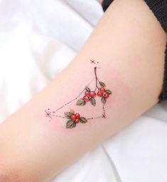 Zodiac Constellations, Watercolor Tattoo, Triangle, Tattoos, Tatuajes, Zodiac Signs, Tattoo, Temp Tattoo, Tattos