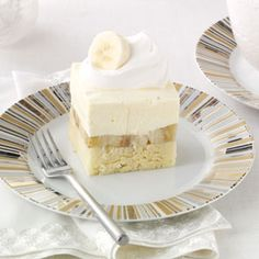 Bananas & Cream Pound Cake Recipe from Taste of Home -- shared by Courtney Farnon of Cartersville, Georgia