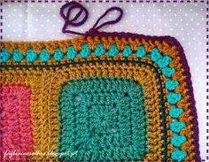 Faz bem aos olhos   Crochet - Crafts - Lifestyle: almofadas