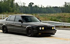 Фото обои E34, BMW, BBS