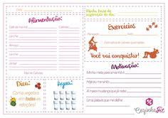 Que tal ter um diário alimentar para imprimir gratuitamente? Assim fica mais fácil seguir uma rotina saudável!