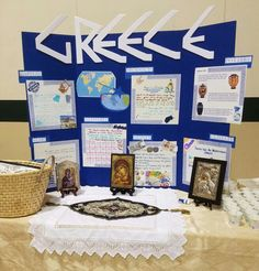 Girl Scout World Thinking Day Greece Girl Scout Swap, Girl Scout Leader, Girl Scout Troop, Greece Girl, Gs World, Cool Science Fair Projects, Days For Girls, Culture Day, Country School