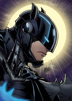 Mech Batman by RecklessHero on DeviantArt Batman Armor, Batman Vs Superman, Batman Arkham, Gotham, Tim Drake, Damian Wayne, Batman Concept, Batman Redesign, Batman Wonder Woman
