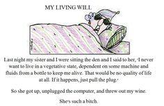 My Living Will w/Maxine