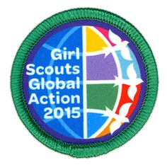 Learn about the Girl Scout Global Action award, an exciting way to address world concerns highlighted in the United Nations' Millennium Development Goals. Girl Scouts Usa, Girl Scout Swap, Girl Scout Leader, Daisy Girl Scouts, Girl Scout Badges, Brownie Girl Scouts, Gs World, Girl Scout Patches, Pipe Cleaner Crafts