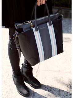 Ana Gilca - Model Street Style at Spring 2014 Fashion Week - Marie Claire