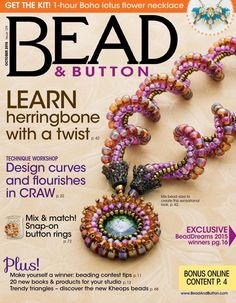 #ClippedOnIssuu from Bead And Button Oct2015