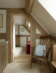 Cottages - Border Oak - oak framed houses, oak framed garages and structures. Cottages - Border Oak - oak framed houses, oak framed garages and structures. Style At Home, Border Oak, Oak Frame House, Loft Room, French Cottage, French Farmhouse, Farmhouse Design, Cottage Interiors, Ideal Home