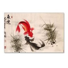 Koi fish Postcards (Package of 8) on CafePress.com