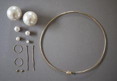 mode de boulangerie: DIY Perlové šperky